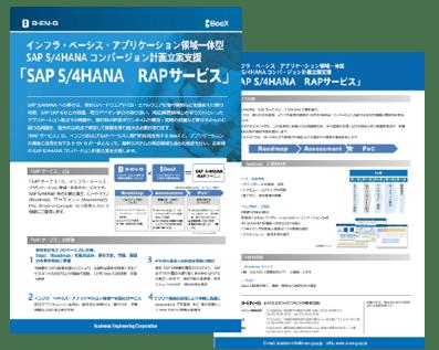 SAP S/4HANA RAPサービス