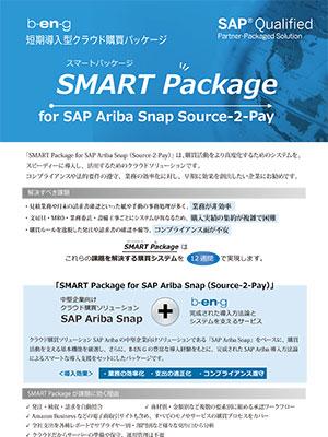 短期導入型クラウド購買パッケージ「SMART Package for Ariba Snap Source-2-Pay」